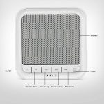 Appareil de Sommeil AVANTEK WN-1B Thérapie Sonore à Bruits Blancs avec 20 Sonorités Reposantes pour Voyage Sommeil Insomnie Détente Relaxation Blanc de la marque AVANTEK image 1 produit