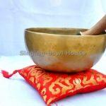 Bol tibétain chantant fait main au Népal par des bouddhistes 17,8 cm de la marque thamelmart image 1 produit