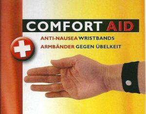 COMFORT AID Bracelets anti-nausée (noir) massage par pression mal de transport, grossesse de la marque Comfort Aid image 0 produit