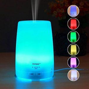 Diffuseur d'huiles essentielles 300ml Innoo Tech Troisème génération du diffuseur aromatique & Brumisateur 4 programmations différentes & 7 couleurs de LED pour la chambre, le SPA, le bureau. de la marque Innoo Tech image 0 produit