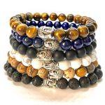 GOOD.designs bouddha-bracelet en pierre semi-précieuse perles de 8mm, Bouddhiste-pendentif de la marque GOOD.designs image 4 produit