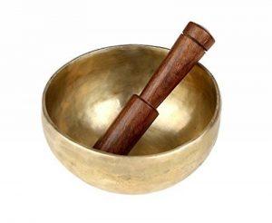 Indian Art bols chantants tibétains pour la méditation et la guérison par vibrations 5 pouces Bouddhisme de la marque ShalinIndia image 0 produit