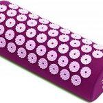 Kit d'acupression Fitem - Tapis d'Acupression + Coussin + Sac + Boule de Massage - Soulage douleurs Dos et Cou - Sciatique - Massage dos - Relaxation Musculaire - Acupuncture - Récupération post-sport (Violet-Fushia) de la marque Fitem image 3 produit