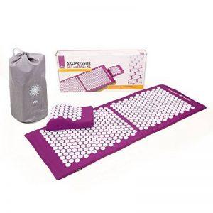Kit d'acupression VITAL XL :Tapis d'acupression XL 130 x 50 cm + Coussin d'acupression 33 x 28 cm de la marque Bodhi image 0 produit