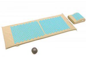 Kit d'acupression XL Fitem - Tapis d'Acupression + Coussin + Boule de Massage - Soulage douleurs Dos et Cou de la marque Fitem image 0 produit