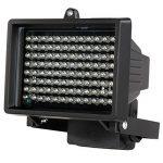 KKmoon 96 LEDS IR Illuminateur Lampes Infrarouges Tableau Vision Nocturne Extérieure étanche pour Caméra de Sécurité CCTV Noir de la marque KKmoon image 5 produit