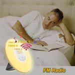 Lampe de Réveil avev Fonction Horloge Alarme Snooze et Radio FM, URAQT Alarme Digital de Chevet Simulation d'aube Lumière du Jour pour Enfant et Adulte de la marque URAQT image 4 produit
