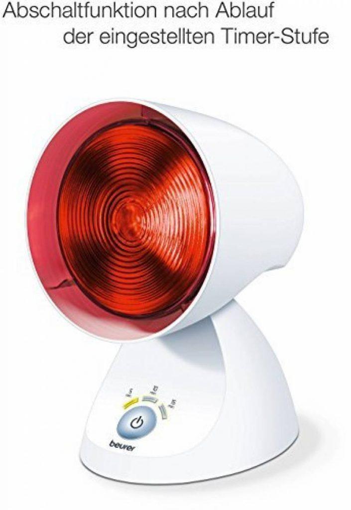 Lampe hyperthermique Lumi/ère rouge avec clip R/églable Lumi/ère rouge Soulage les douleurs musculaires Lampe /à infrarouge 275 W