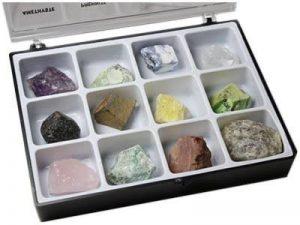 Minéraux Bruts Boite de 12 Pierres Pierres brutes de lithothérapie et de collection de la marque MINERAMA image 0 produit