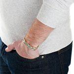 Nouveauté Bracelet Aimanté homme en titane, Boîtier velours et Ustensile ajusteur inclus de la marque Willis Judd image 3 produit
