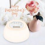 【Nouvelle Vesion】InLife Lampe de réveil,Fonction Appareil de sommeil avec 4 sons naturels Bruit Blanc, Lumière changeante de 7 couleurs,3 intensités réglable, fonction snooze,Lampe rechargeable de la marque InLife image 6 produit