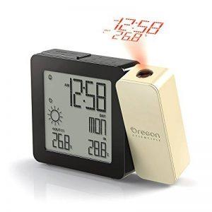 Oregon Scientific BAR368P - Réveil avec projection de l'heure et température intérieure et extérieure (Crème) de la marque Oregon Scientific image 0 produit
