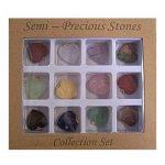 Pendentifs 12 pierres précieuses forme de coeur gemmes Esotérisme Bijoux colliers de la marque IB image 1 produit