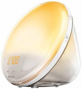 Philips Eveil Lumière - HF3531/01 - Radio réveil lumineux avec fonction veilleuse et guide de nuit et port USB de la marque Philips image 0 produit
