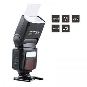 PHOTOOLEX M500 flash Speedlite pour Canon Nikon Sony Panasonic Olympus Fujifilm Pentax Sigma Minolta Leica et d'autres Appareils Photo Reflex Numérique DSLR Film DSLR Caméra Numériques de la marque PHOTOOLEX image 0 produit