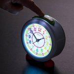 Réveil pour enfants EasyRead Time Teacher avec veilleuse, cadran arc-en-ciel 24 heures de la marque EasyRead time teacher image 4 produit