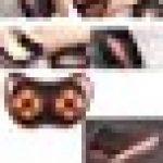Shiatsu Coussin de massage pour nuque/dos/taille/épaule profond avec avec fonction wärm et de la lumière, 3D Massager de rotation avec chiffon lavable pour maison bureau la voiture garantie 2ans 8 Nodes de la marque VOROSY image 3 produit