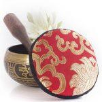 Silent Mind ~ Bol Chantant Tibétain Antiques ~ Génial pour méditation, la relaxation, le stress et le soulagement de l'anxiété, guérison des chakra, yoga, zen ~ Cadeau spirituel parfait de la marque Silent Mind image 2 produit