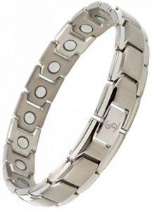 Smarter LifeStyle Bracelet Magnétique Élégant En Titane - Argent de la marque Smarter LifeStyle image 0 produit