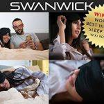Swanwick Sleep UK - Le masque de sommeil 100% soie - De large dimension pour bloquer la lumière en dormant - Le masque pour les yeux idéal pour voyager, méditer, faire la sieste de la marque Swanwick Sleep UK image 1 produit