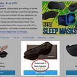 Swanwick Sleep UK - Le masque de sommeil 100% soie - De large dimension pour bloquer la lumière en dormant - Le masque pour les yeux idéal pour voyager, méditer, faire la sieste de la marque Swanwick Sleep UK image 2 produit