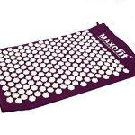 Tapis d'acupression MAXOfit® avec sac pour le transport , couleur bordeaux, taille M :75 x 44 x 2,5 cm (65224) de la marque MAXOfit image 2 produit