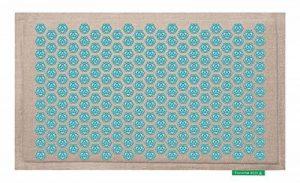 Tapis de Fleurs - Soulage les douleurs de dos - Turquoise de la marque Le Champ de Fleurs image 0 produit
