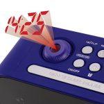 Tristar CL-1498 Radio Réveil Projecteur Réglage de lumière Bleu de la marque Tristar image 3 produit