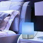 Warkit L1 Réveille-matin lumière Rechargeable Portable Réveil à LED Avec 5 Sons Naturels Sunrise Simulation Multi Modes de Lumière Touch Control Night Light de la marque Warkit image 6 produit